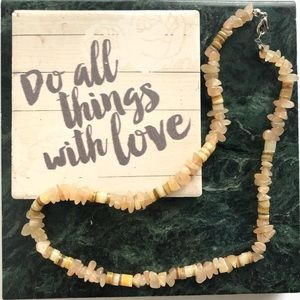✋🏼 Handmade Bare Bones Necklace
